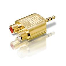 SWA3552/10 -    Adaptador Y estéreo