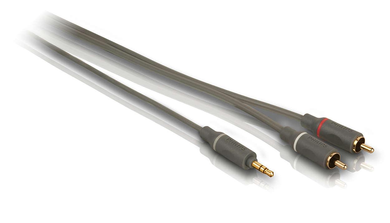 Geniet van geluid van topkwaliteit