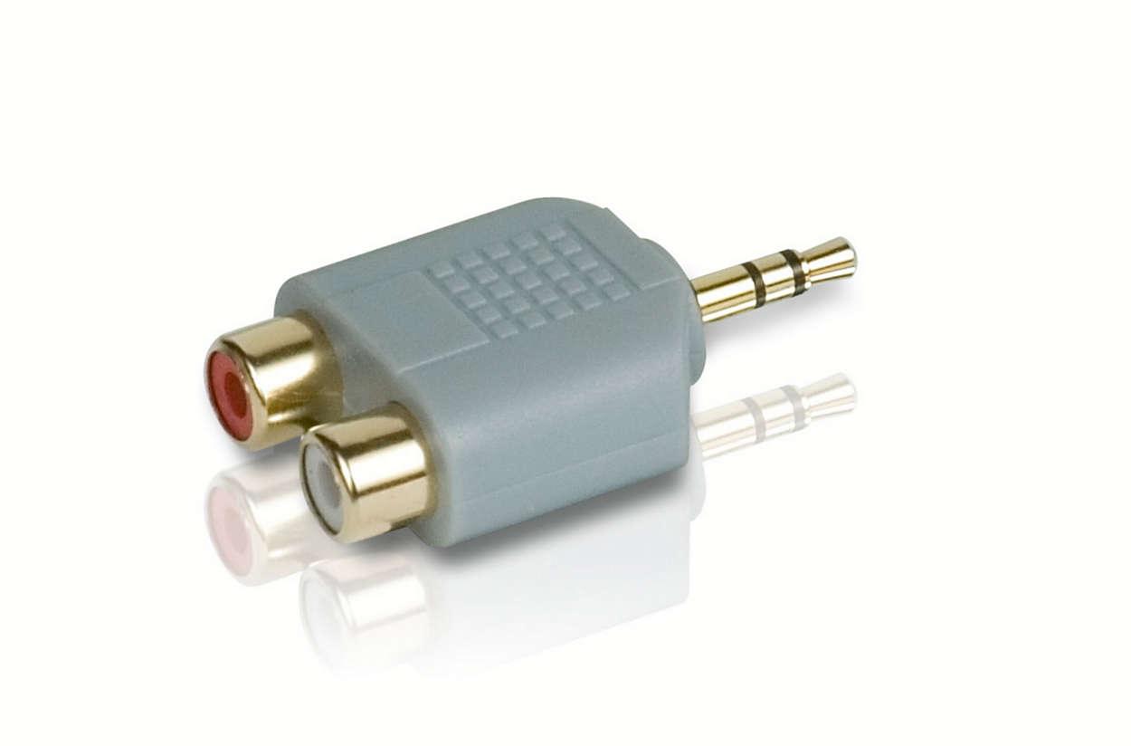 Гарантия надежного подключения аудио