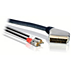 Scart to stereo audio cable
