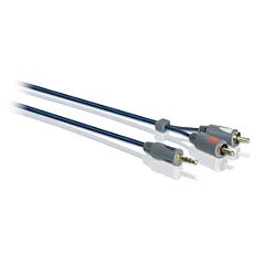SWA7533W/10  Cable estéreo Y