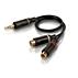 Cable estéreo Y
