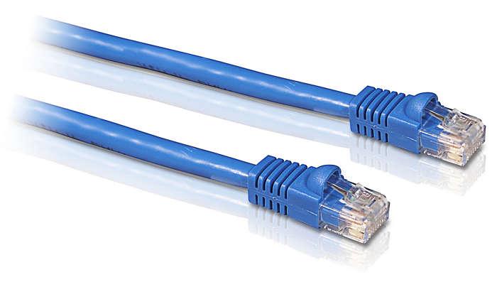 Ligue-se à Ethernet
