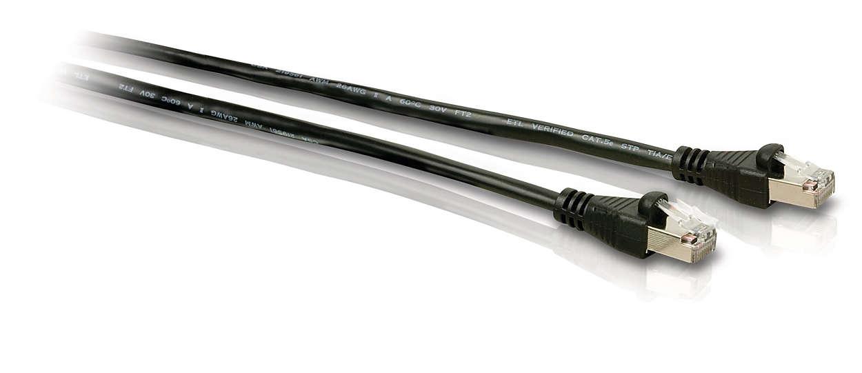 Maak verbinding met Ethernet