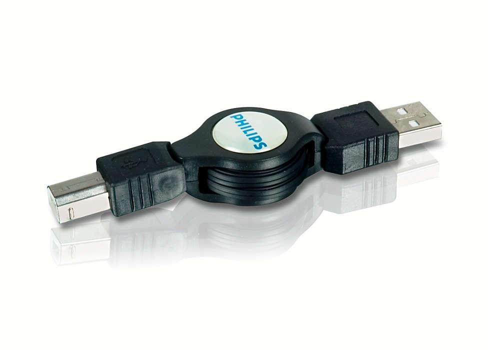 Verbindung von Druckern, Hubs und anderen Geräten
