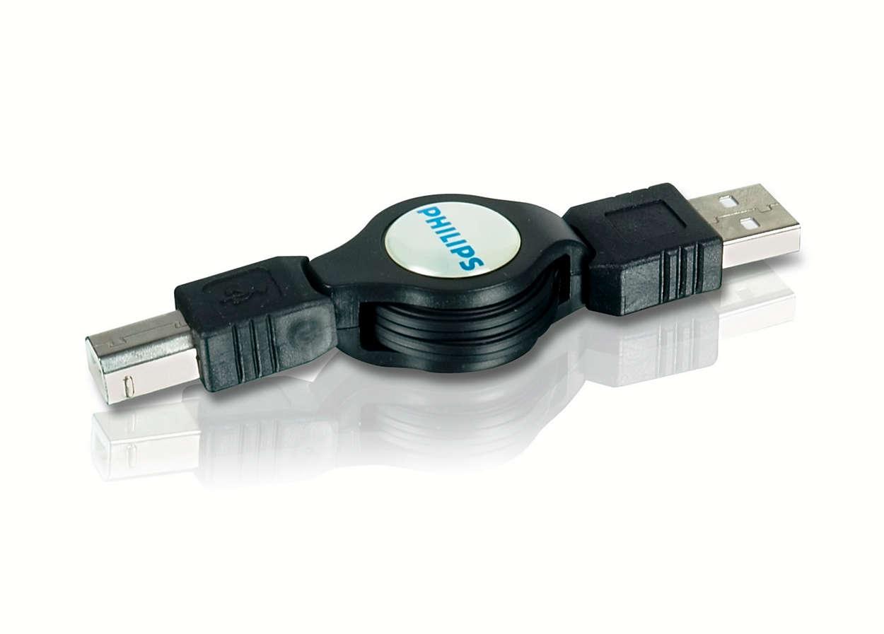 Conectaţi imprimante, hub-uri şi multe altele