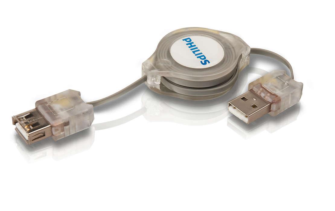 Verleng de verbinding voor meerdere USB-apparaten