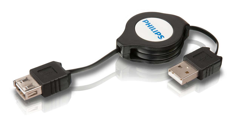 Extensão USB