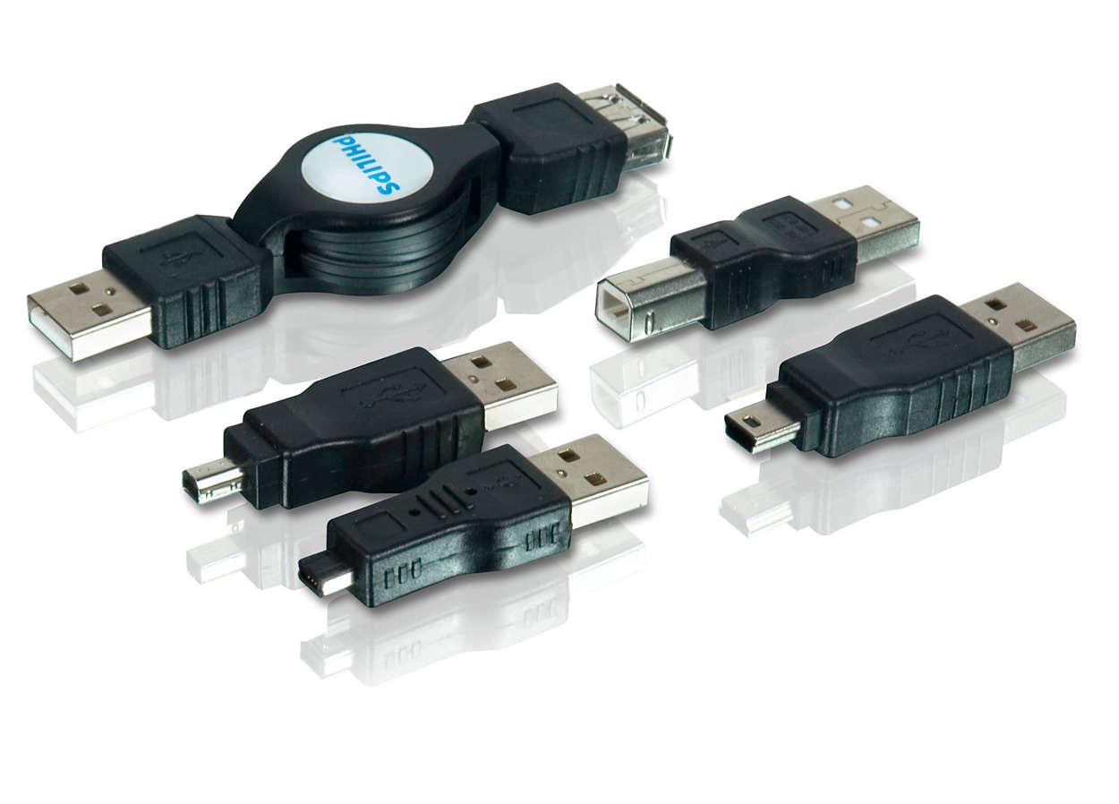 Rozšiřte připojení více USB zařízení