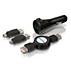 USB 2.0-adapterset