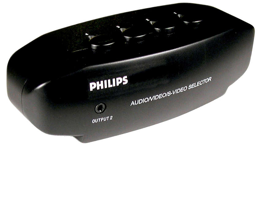 Connect up to 4 devices to a TV