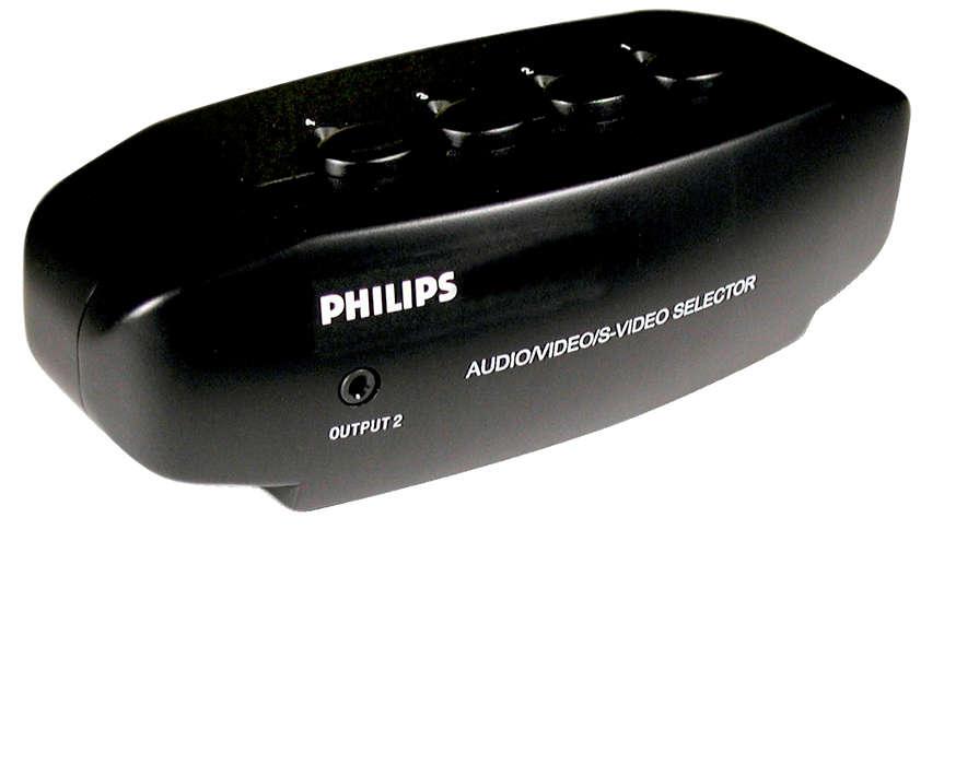 Connectez jusqu'à quatre appareils à un téléviseur