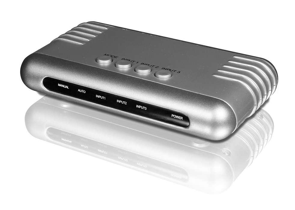 Alterna entre 3 fuentes HDMI