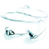 Swarovski Модни слушалки
