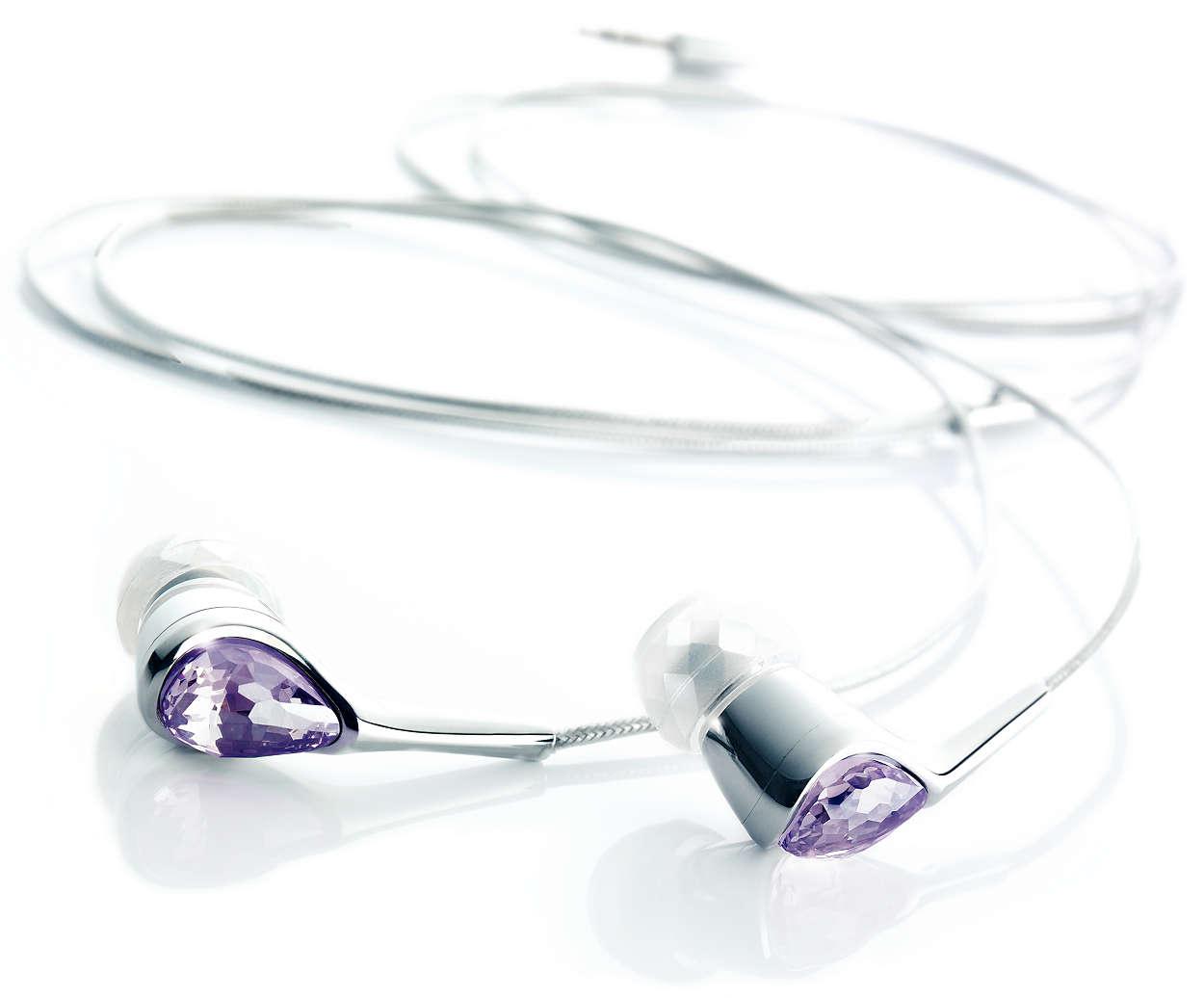 Pure Crystal hangzás