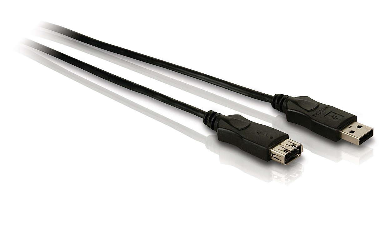 Získejte rozšíření stávajícího USB připojení