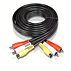 S-video/stereo audio cable