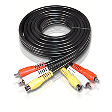 SWV2071/93  S-video/stereo audio cable
