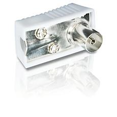 SWV2184W/10 -    PAL-Kabelstecker