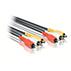 Samengestelde A/V-kabel