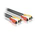 Набор композитных кабелей А/В