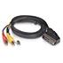 Cable euroconector