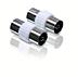 Koaxial-Doppeladapter