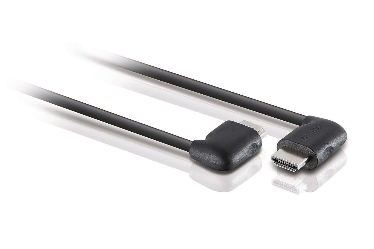 Nagy átviteli sebességű HDMI™ kábel