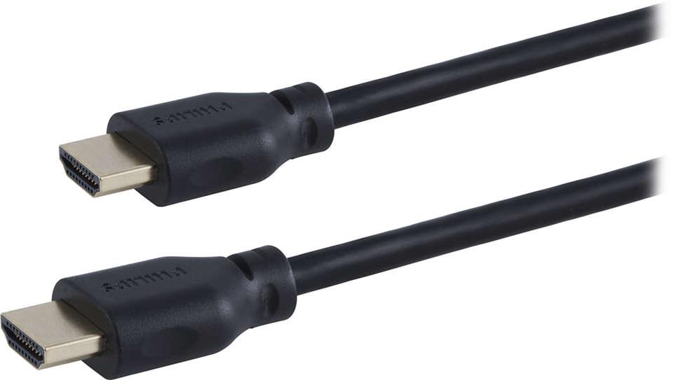 Câble HDMI Haute vitesse 1,8m