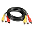 kompozitinis A/V kabelis