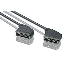 SWV2943W/10 -    Scart-kabel
