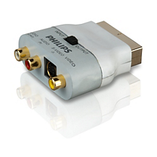 SWV3011S/10  Scart-Adapter