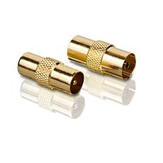 SWV3033S/10  Průchozí konektory