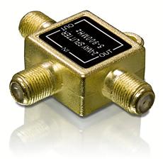 SWV3061/10  PAL-tüüpi raadiojagajaga