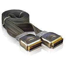 SWV3542/10 -    Câble péritel plat