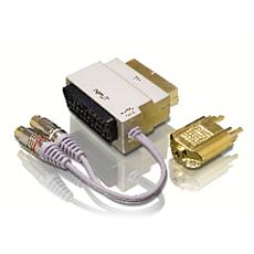 SWV3562/10  Scart-A/V-Adapter