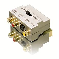 SWV3563/10  Scart-Adapter