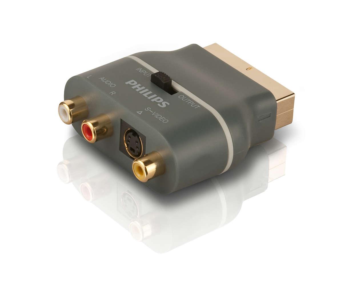 Immagini e audio di qualità superiore