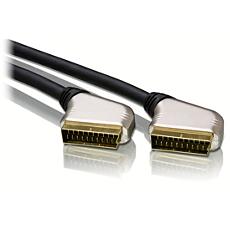 SWV5525/10  Scart-kabel