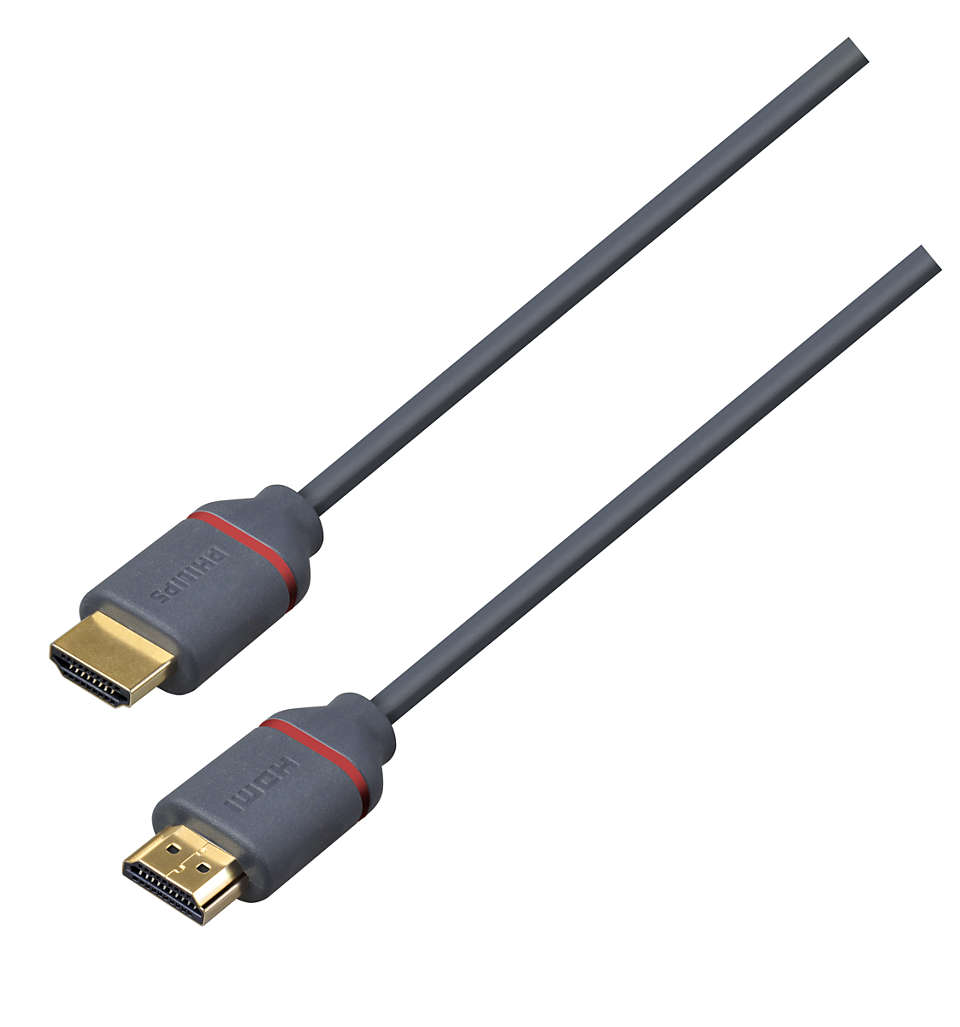 Кабель сертифицирован HDMI Premium