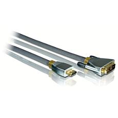 SWV6424/10 -    Cavo di conversione HDMI/DVI