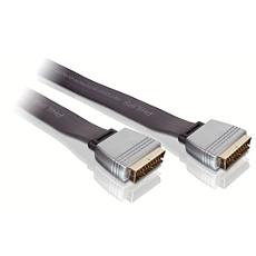 SWV6682/10  Cable euroconector plano