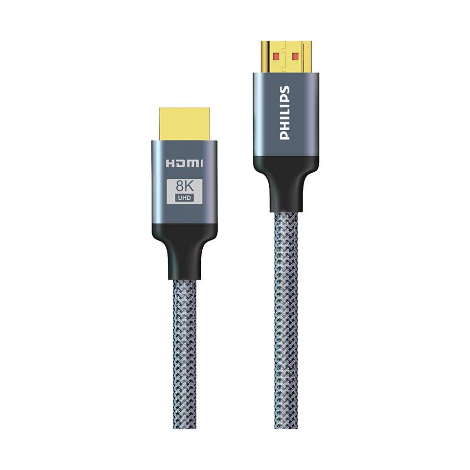 HDMI®-kabel med ultrahög hastighet