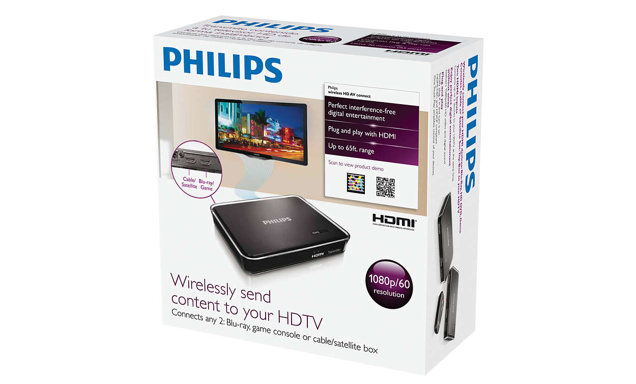 Wireless HD AV Connect SWW1810/27 | Philips