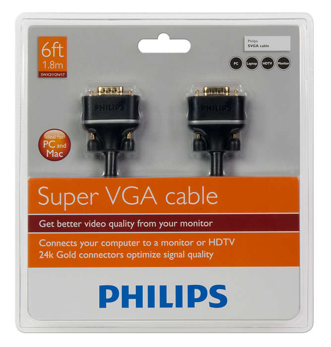 SVGA monitor cable SWX2112N/17 | Philips