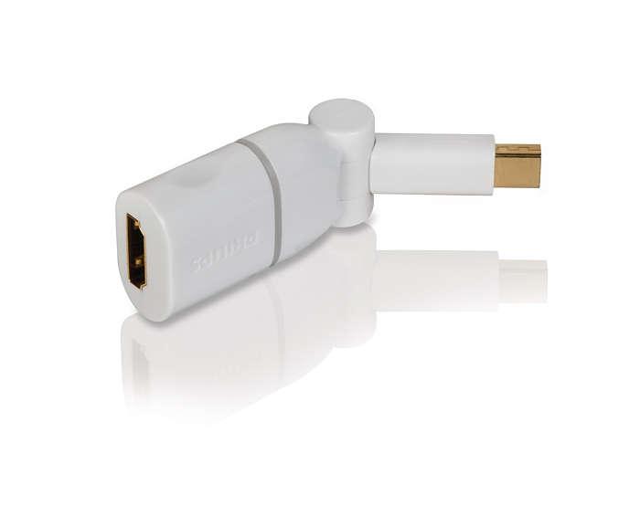 Apresentar os seus conteúdos Mac num HDTV