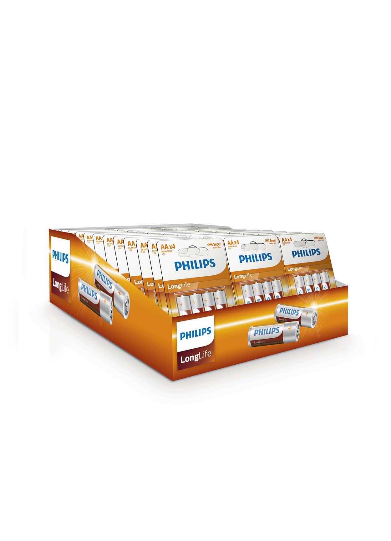 Pakiranje tvrtke Philips za izlaganje na pultu