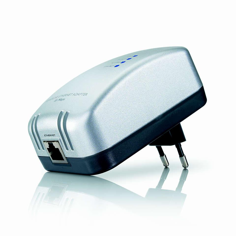 Rozšiřte svou stávající síť Powerline Ethernet