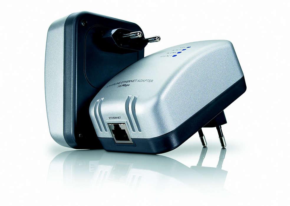 Internet z elektrické zásuvky