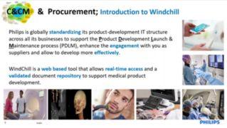 Supplier Webinar Windchill Introduction